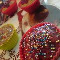 ~mes premiers muffins légers, quasi sans sucre pour ma petite f.~