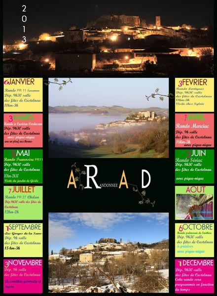 2013 dim arad calendrier1