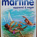 Martine apprend à nager 1975