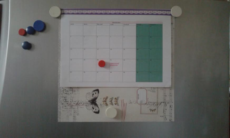 calendrier made home