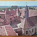 Charlieu - abbaye bénédictine - hotel du Prieur datée 1984