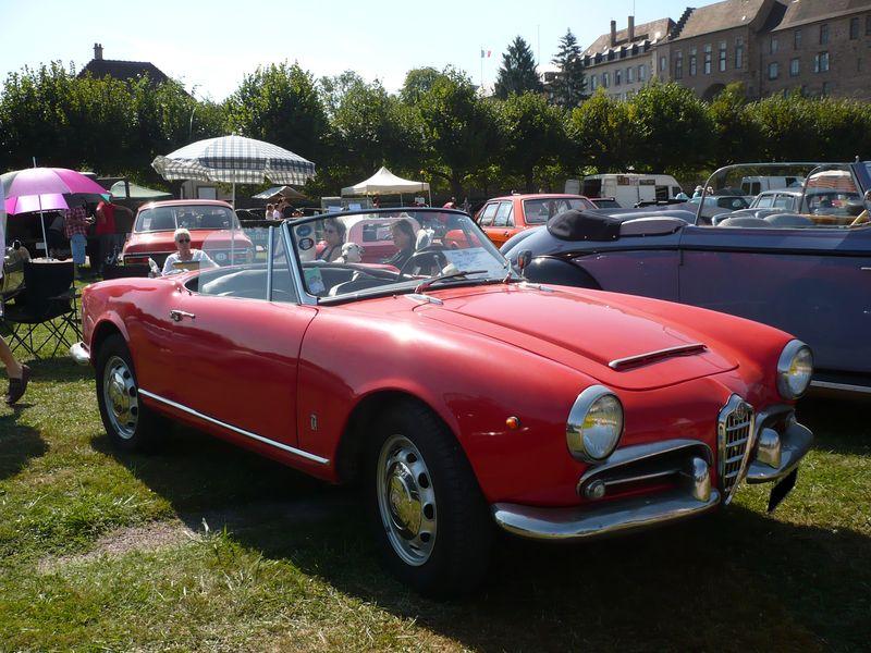 ALFA ROMEO Giulia Spider 1600 1963 Saverne (1)