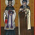 Sainte claire et saint yves