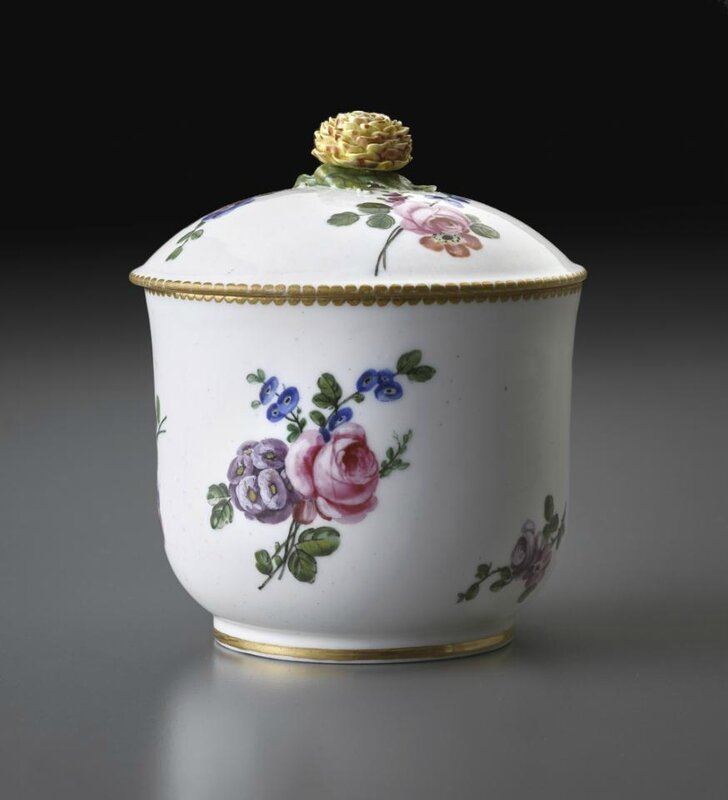 Sugar Bowl, Sèvres Porcelain Manufactory