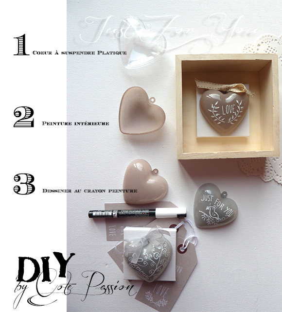 DIY Cote Passion Coeur