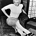 17/08/1953 canada marilyn à l'hôtel