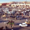 Djemaa el Fna in Marrakech Jamaa El Fna Square