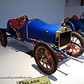 Delage type F biplace course de 1908 (Cité de l'Automobile Collection Schlumpf à Mulhouse) 01