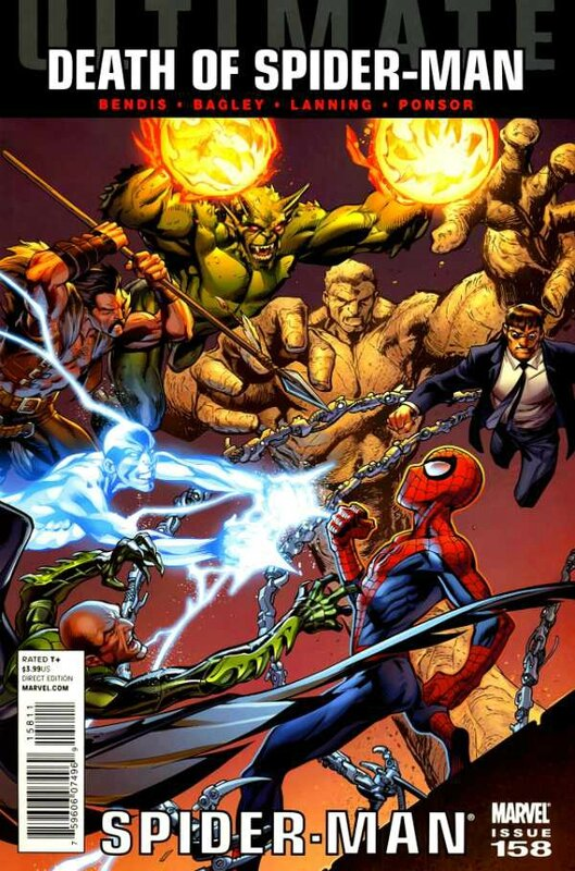 ultimate spiderman 158