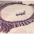Collier Brocade Collar