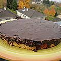 Gâteau pim's géant à la framboise