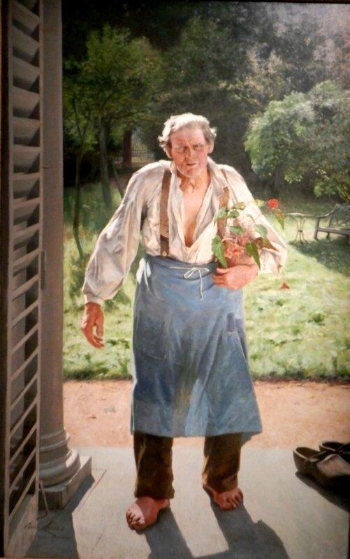 Emile Claus Le vieux jardinier 1885