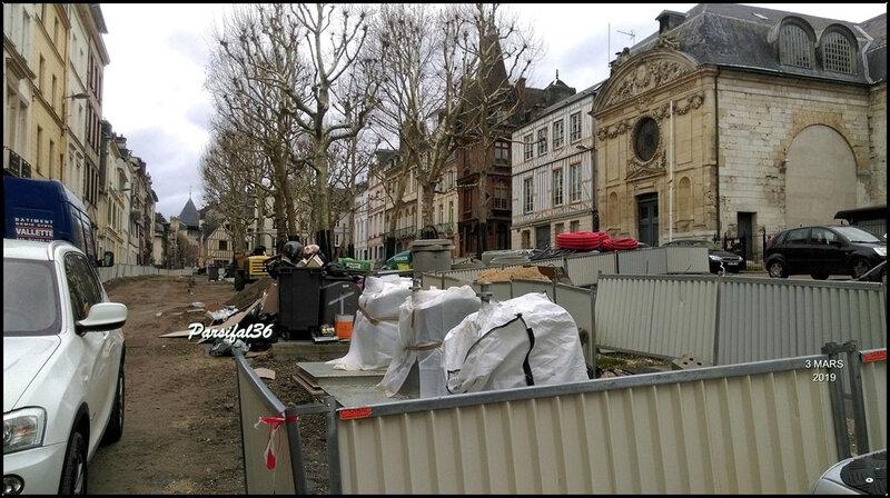 Place de la Rougemare - mars 2019