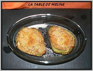 Christophines farcies au crabe