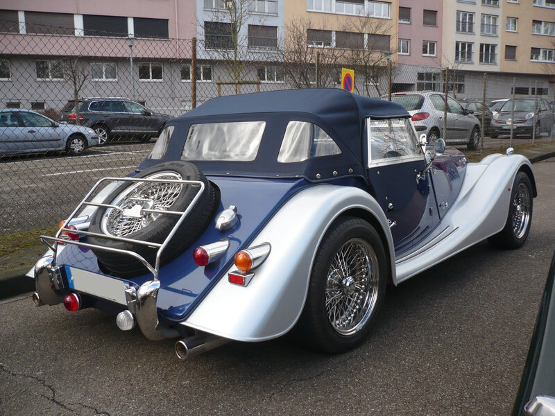 MORGAN Roadster 2009 Strasbourg (2)