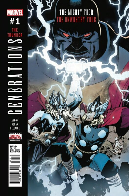 generations mighty thor unworthy thor