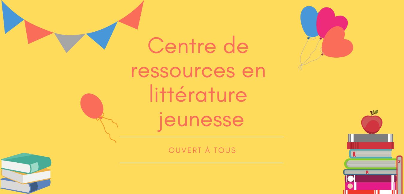 Croqu'livre : centre de ressources en littérature jeunesse