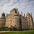 Le château de brissac-quincé