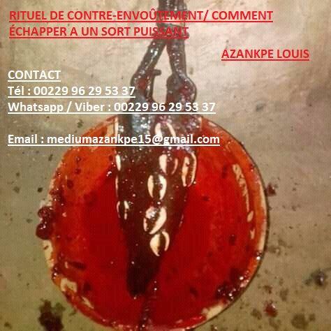 RITUEL DE CONTRE-ENVOÛTEMENT/ COMMENT ÉCHAPPER A UN SORT PUISSANT