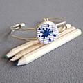 bracelet tache bleue 12€