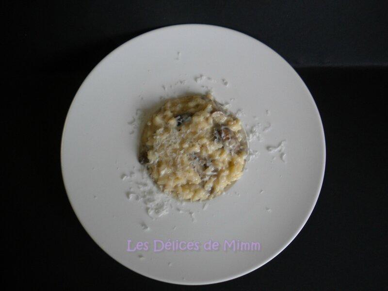 Risotto aux champignons 3