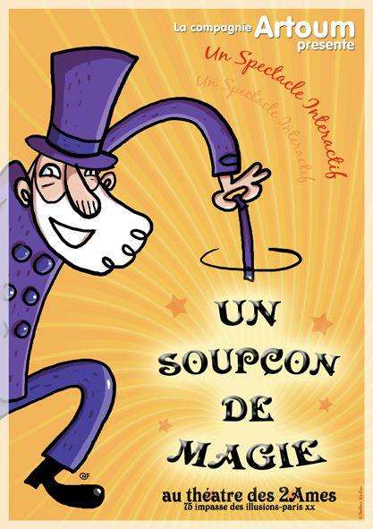 affiche.un soupcon de magie