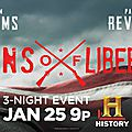 Sons of liberty - minisérie 2015 - history
