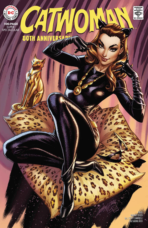 catwoman 80th anniversary special 1960 j scott campbell variant