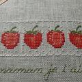 Mimi à mis des fraises partout !!!!!!!!