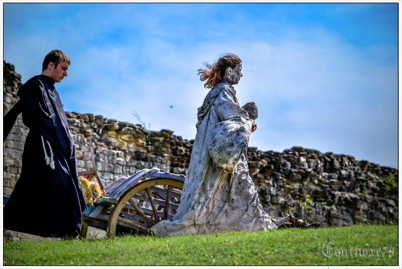 Emma d Aquitaine est enlevée par des Vikings entre l'Abbaye Maillezais et Saint Michel en l'Herm (1)