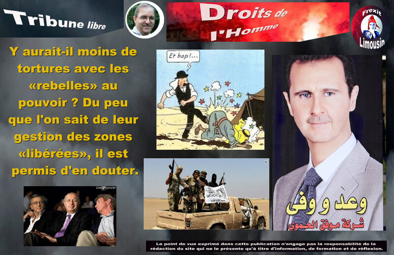 TL BRICMONT TORTURE SYRIE