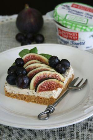 Comme un cheesecake mi-figue mi-raisin (sans cuisson) 3