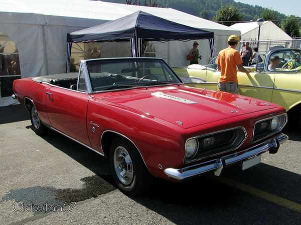 plymouth barracuda 340 formula s convertible 1968 a