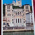 Lyon - cathédrale St Jean - basilique de Fourvière