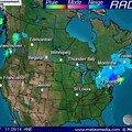 Voici la carte météo de la journée... et des