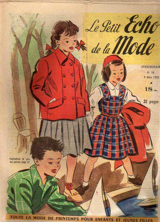 mode echo de la mode 1952