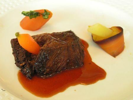 2011 11 24 - Chateau du Mont Joly à Sampans - Catherine et Romuald Fassenet - déjeuner 6 - boeuf carotte (1)