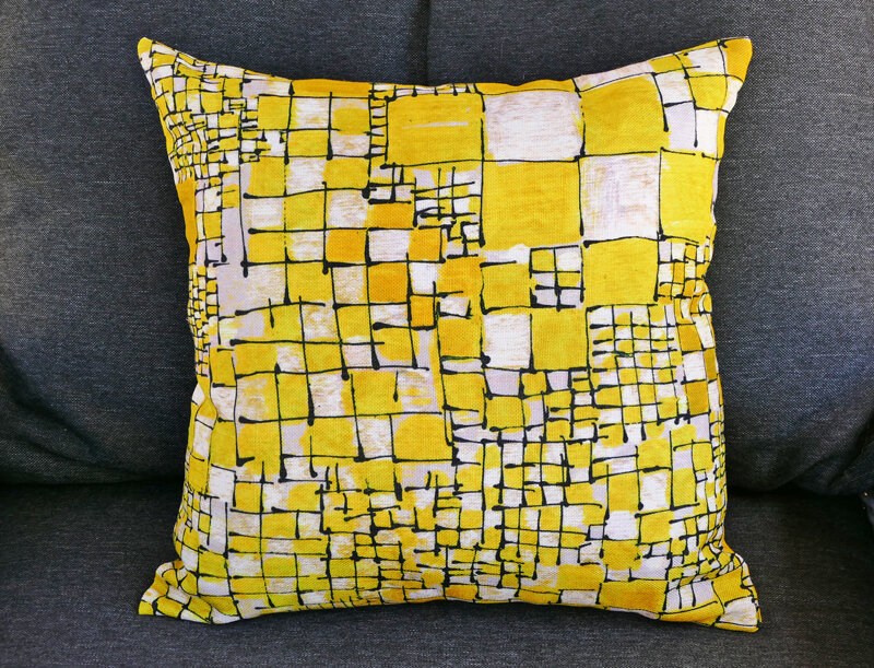 coussin lalie design rubiscube 2
