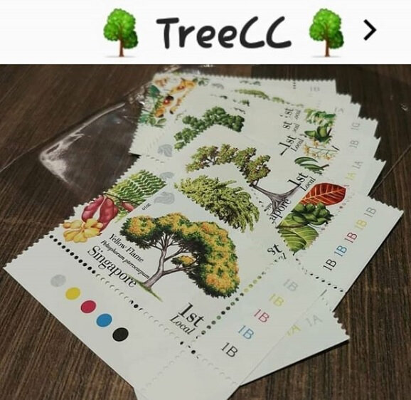 2018 0814 treescc postcard by uknowan from singapore