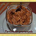 Tartinade provençale
