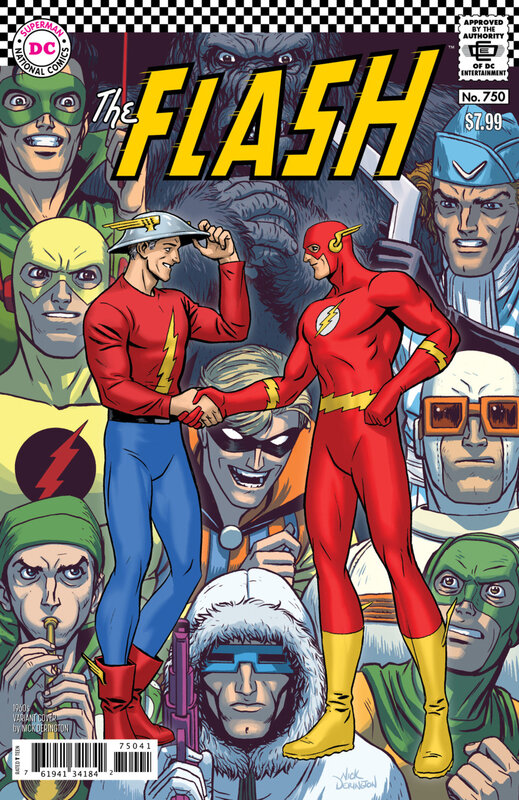 rebirth flash 750 1960 variant
