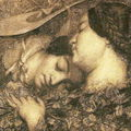 Femmes dans les blés- 1855 après une série de