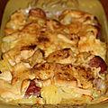 Gratin de pommes de terre au münster de c.felder