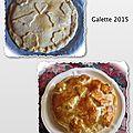 Notre petite galette 2015