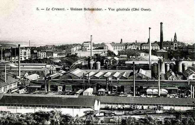 Usine Schneider Le Creusot 1915-5