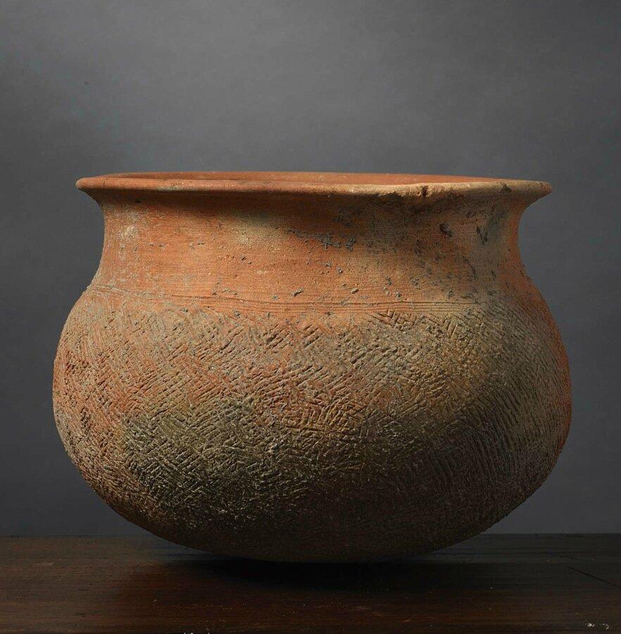 Pot, Vietnam, Culture de Gò Mun, ca 1000 – 600 BCE