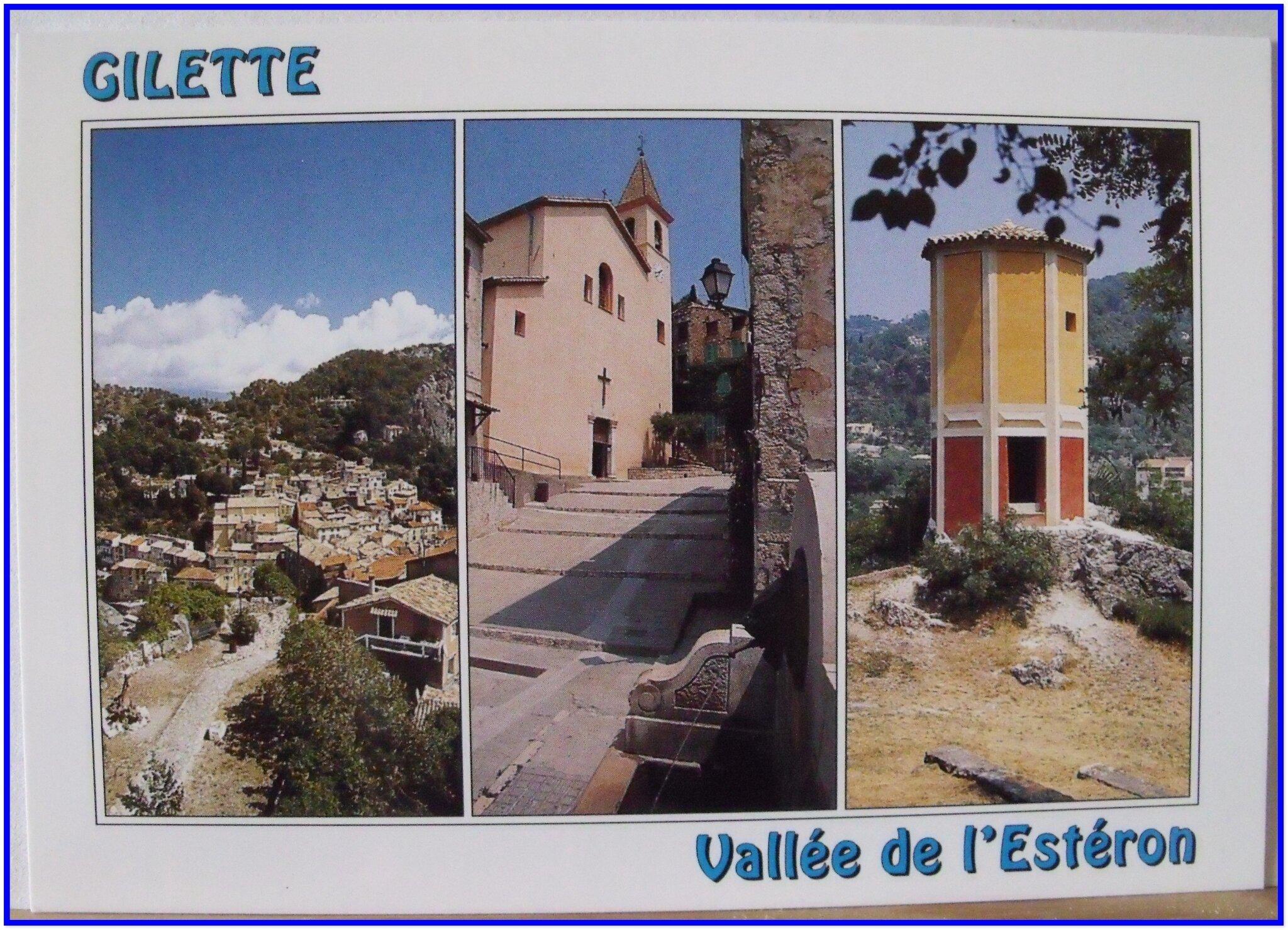 Gilette - église St Pierre de l'AssomptionXVIIe - pigeonnier
