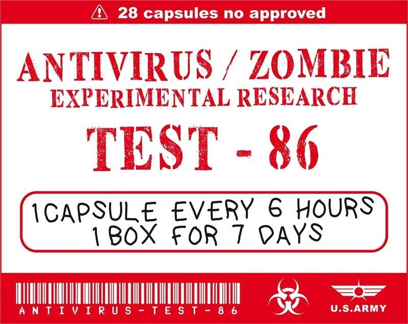 labels - Halloween - Apothecary - zombie - Printables - biohazard - box - virus