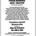 Forum des arts créatifs de bouzonville
