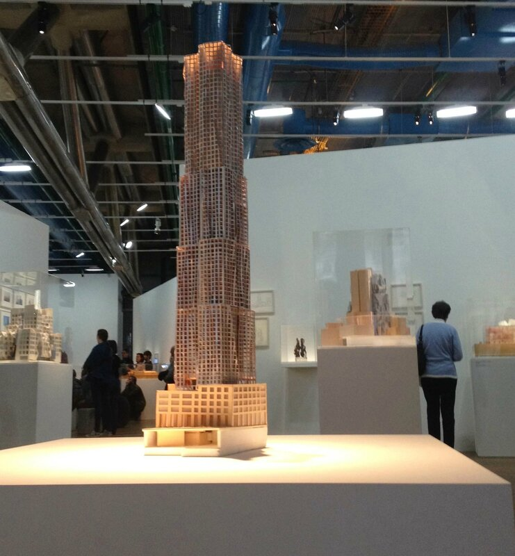 exposition Franck Gerhy-Beaubourg-architecture
